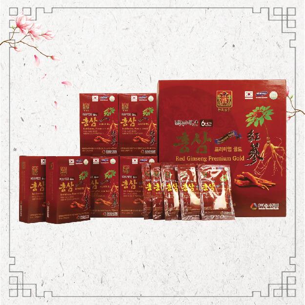 Mua Nước Uống Hồng Sâm Red Ginseng Premium Gold Hàn Quốc