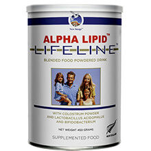 Sữa non Alpha Lipid Lifeline 450g New Zealand